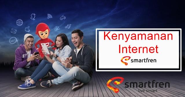 Kenyamanan Internet Smartfren
