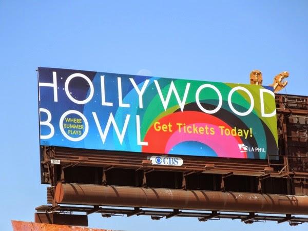 Hollywood Bowl 2014 billboard