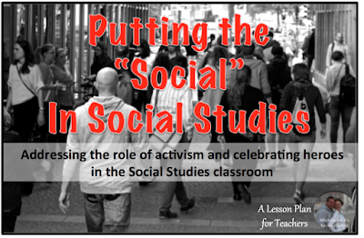 Tips and advice for teaching the role of activism and political involvement in the secondary Social Studies classroom.