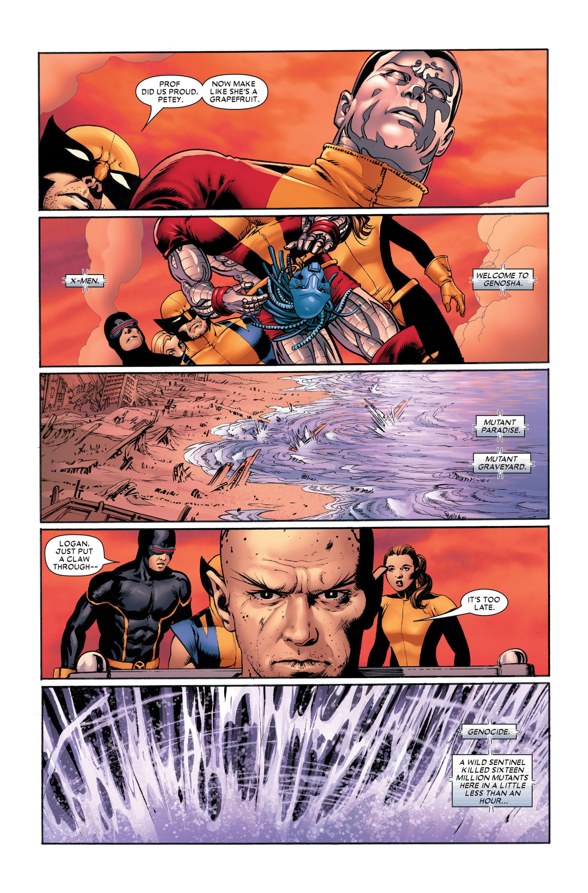 Read online Astonishing X-Men (2004) comic -  Issue #11 - 22