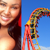 "Photos: Safety Risk! Mum Banned From Getting On Roller Coaster Because Her Chests Are ""Too Big"""