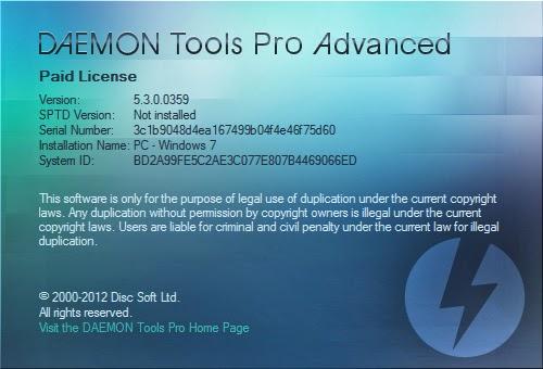 baixar daemon tools pro + serial