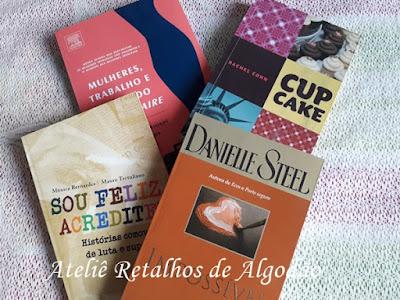 Livros que comprei no Projeto Mais Leitura
