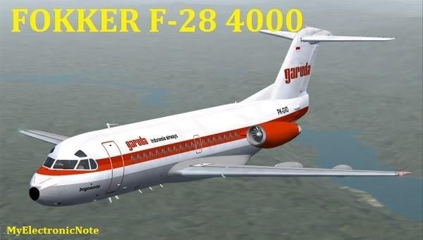 FOKKER F-28 4000 Fellowship