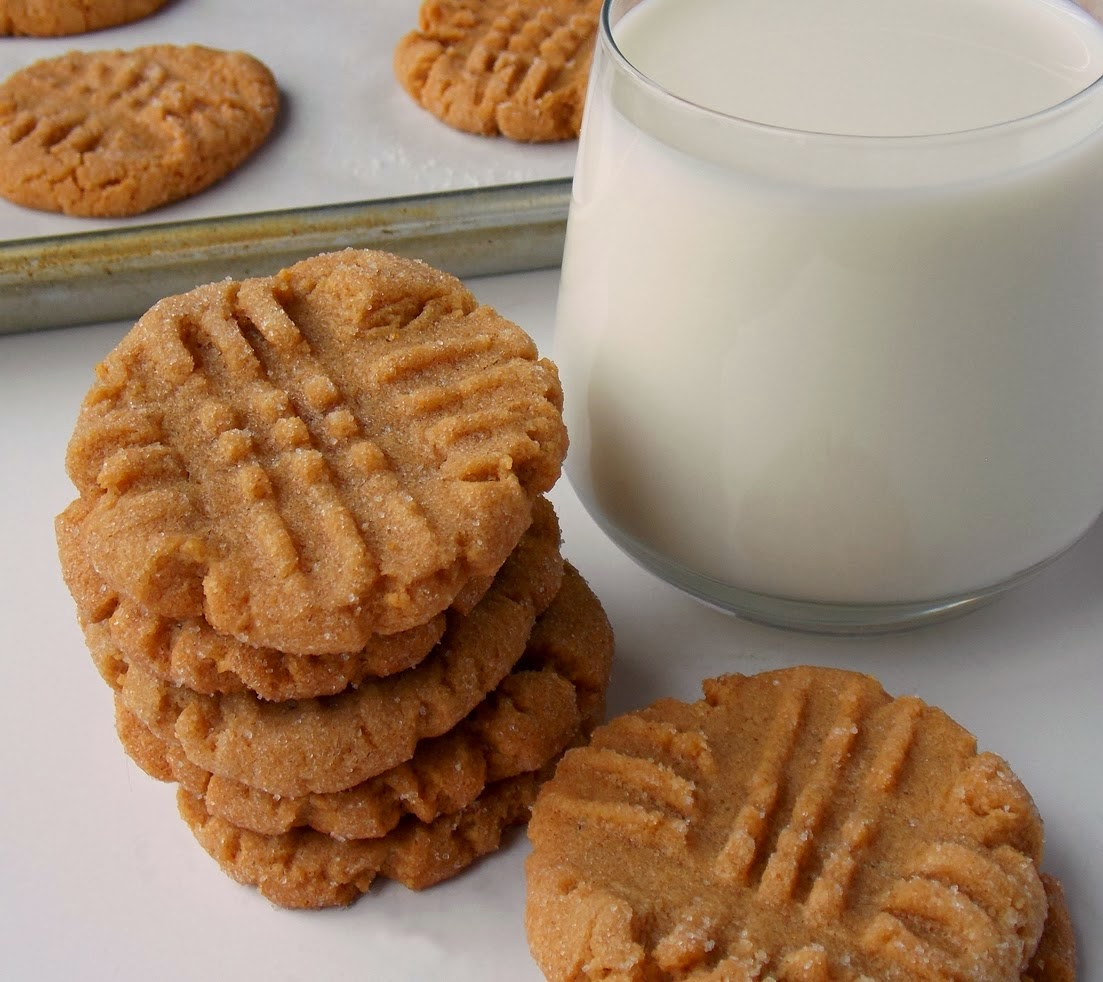 http://www.cleocoylerecipes.com/2014/07/Gluten-Free-Dairy-Free-Flourless-Peanut-Butter-Cookies-Cleo-Coyle.html