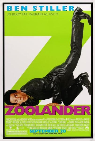 Poster Of Zoolander 2001 720p English BRRip Full Movie Download