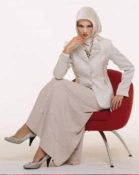 Model Baju Kantor Muslimah Modern