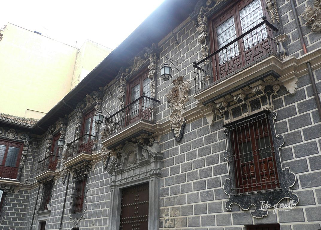 Calle Oficios Granada Casa del Cabildo