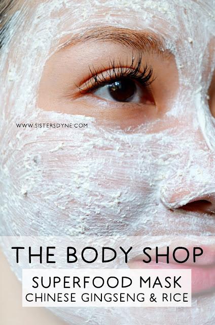 Aplikasi Chinese Gingseng & Rice Clarifying Polishing Mask