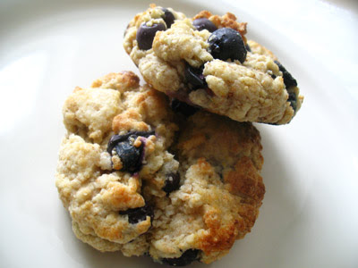 Lemon Ricotta Blueberry Biscuits