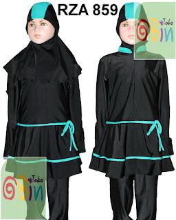 baju renang muslimah anak RZA 859