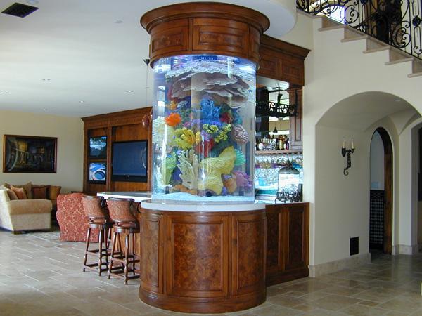 Modern Home Aquarium Design Ideas