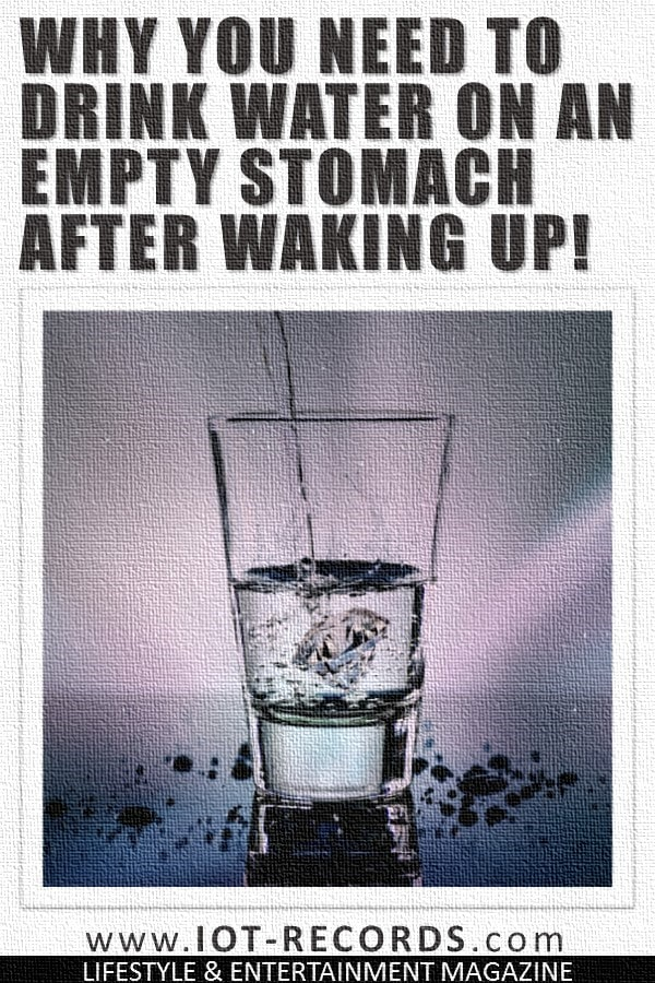 Amazing Things Happen When You Drink Water on an Empty Stomach after Waking Up