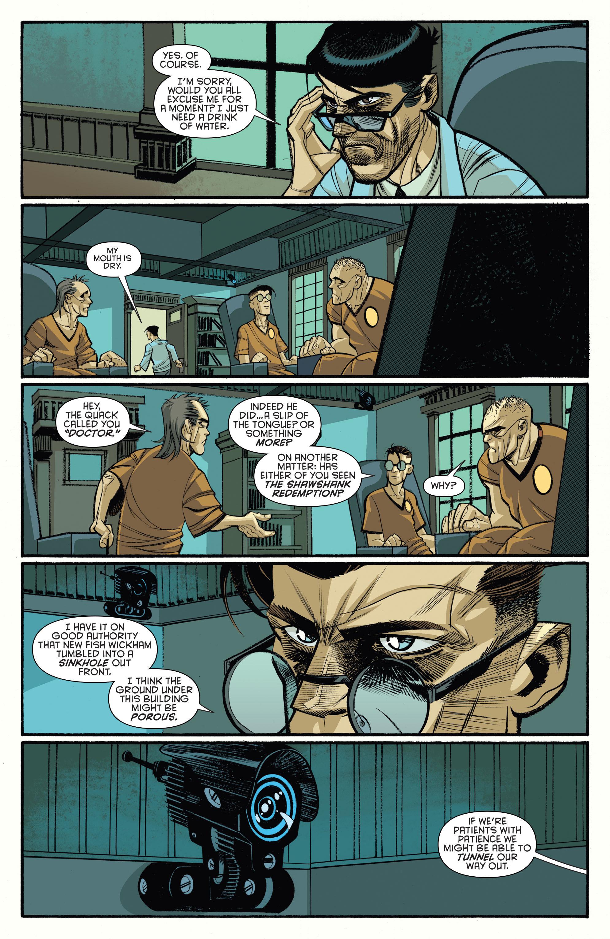 Read online Arkham Manor comic -  Issue #6 - 19