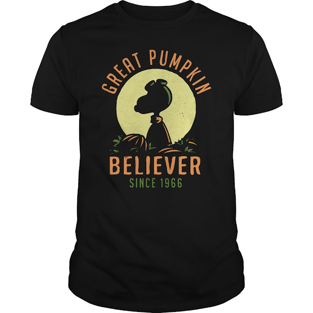 Great Pumpkin Believer Since 1966 T Shirt Hoodie