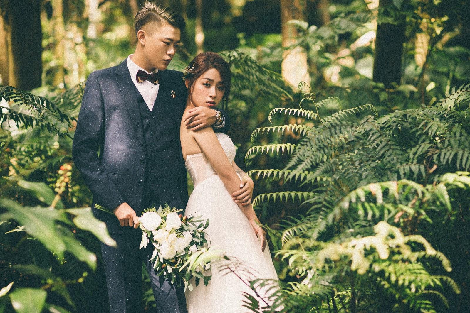 森林系婚紗攝影