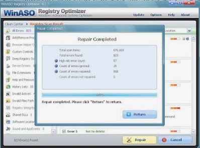 Download WinASO Registry Optimizer 4.8.5