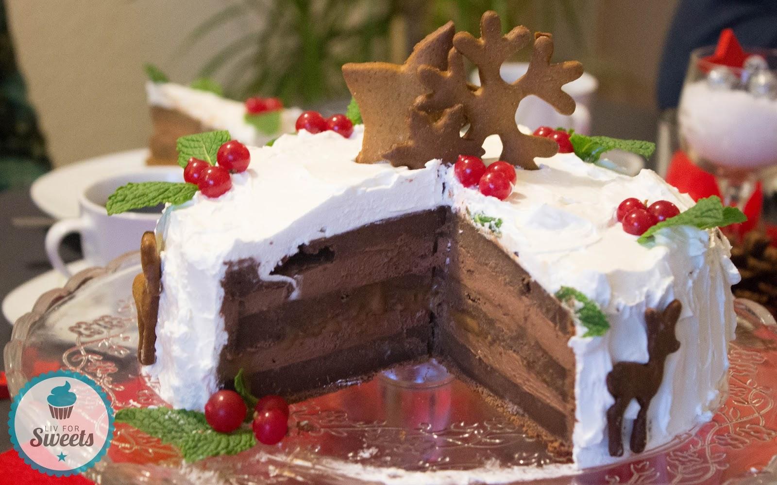 Liv For Sweets Schoko Lebkuchen Torte