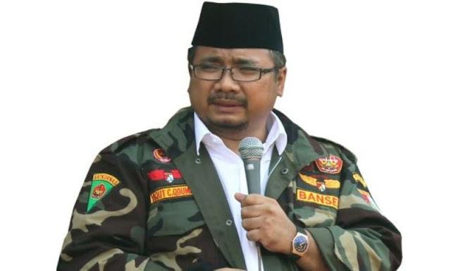 Gus Yaqut Cholil Qoumas Ketua Ansor