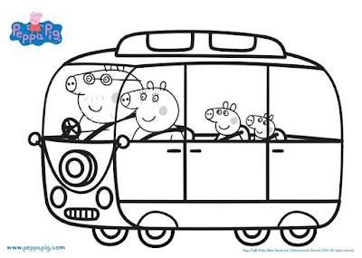 Maternar Para Sempre Desenhos Para Colorir Peppa Pig
