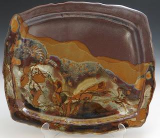 stoneware plattery nc pottery