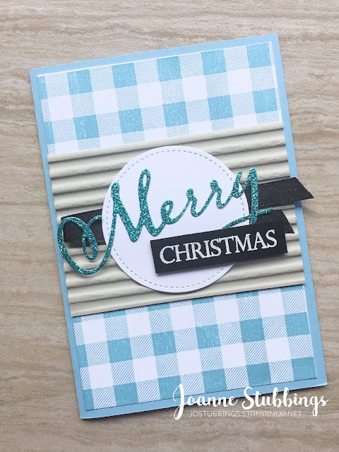 Jo's Stamping Spot - What Will You Stamp? Challenge #200 using Merry Christmas To All bundle by Stampin' Up!