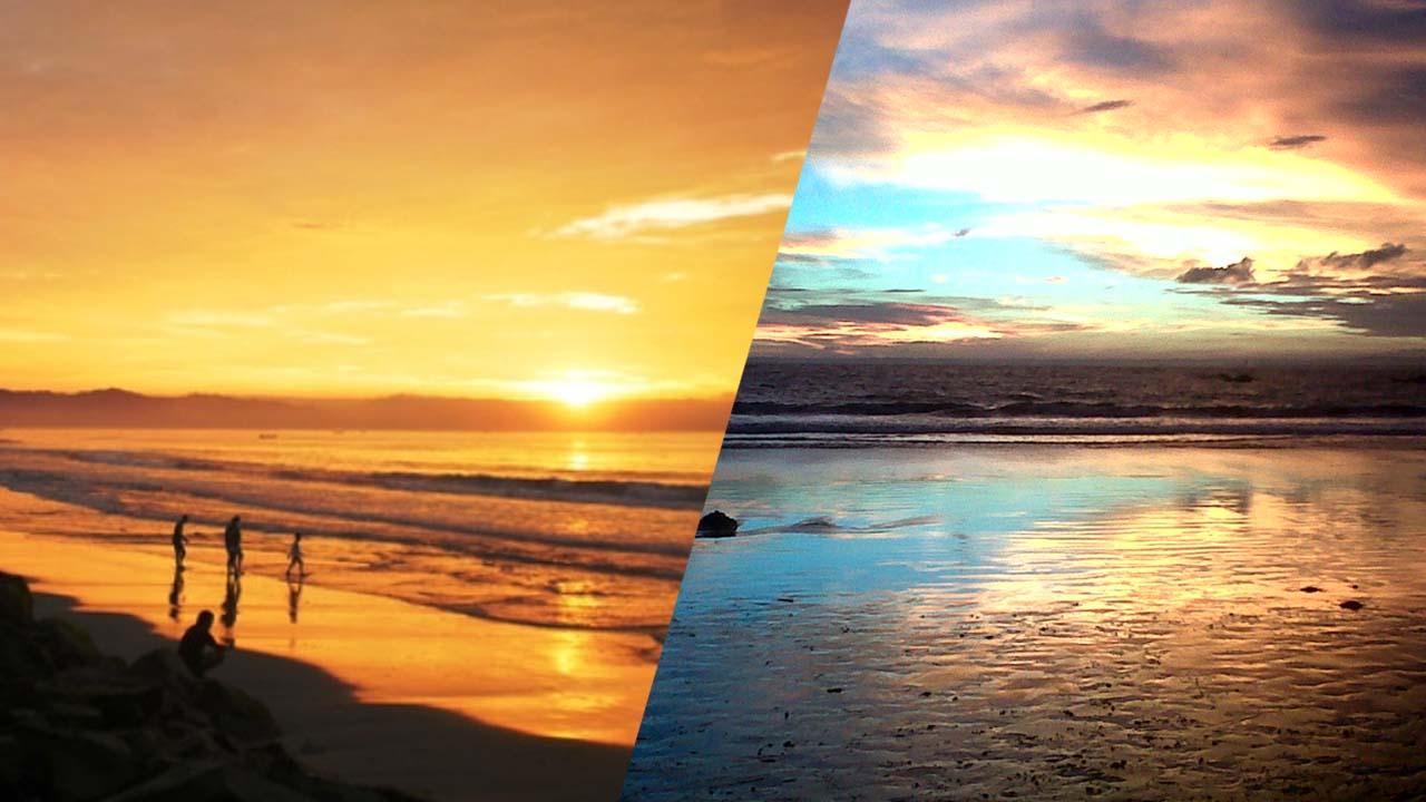 Menikmati Sunrise Dan Sunset Di Pantai Pangandaran