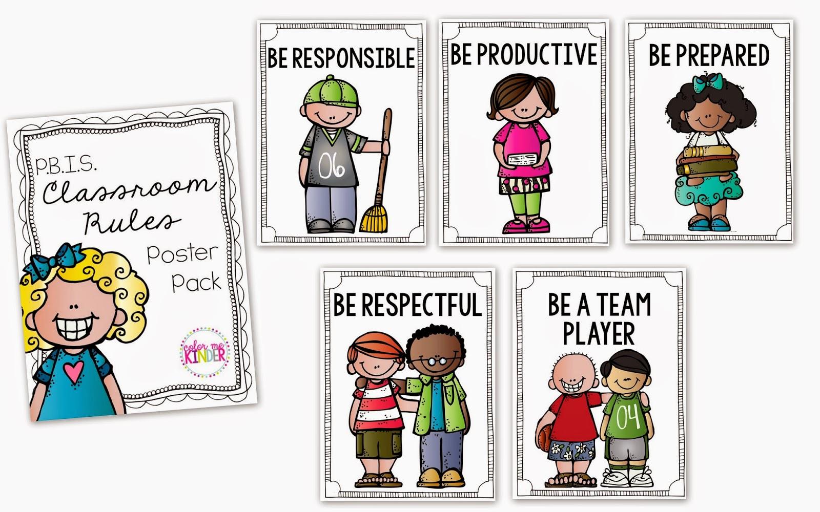 Pbis Classroom Posters Freebie Alert