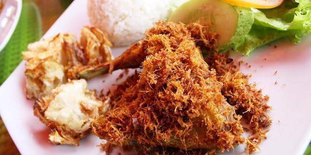Cara Membuat Ayam Goreng Serundeng