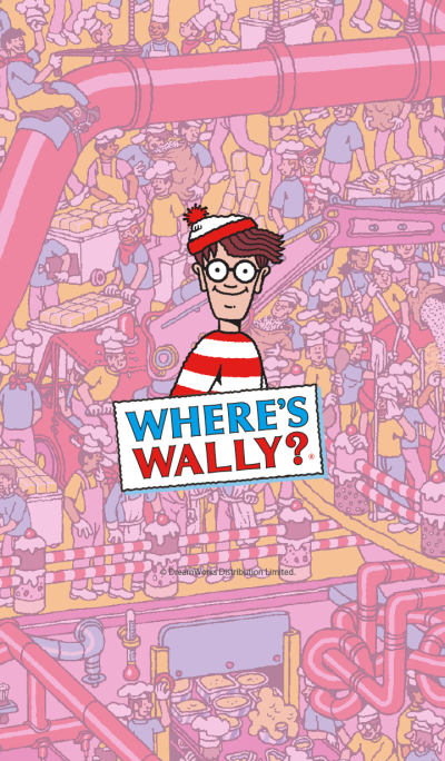 Where's Wally? -CakeFactory-
