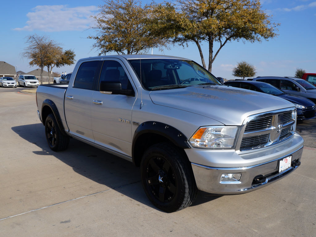"Dodge Dealership Arlington Tx >> Sale Price $24,998 2010 Dodge Ram 4x4 1500 Silver Crew Cab Truck. Has ""20 Black Custom Wheels ..."