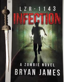 Portada del libro LZR-1143: Infection, de Bryan James