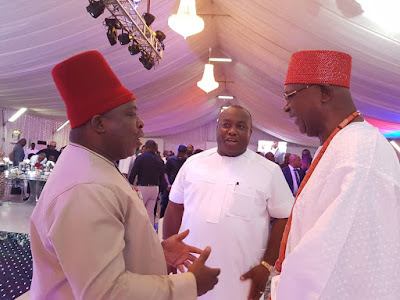 """""""Your feats are insurmountable and exceptional"""" – Ubah extols Umeh at 56"""