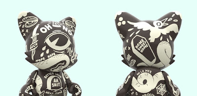 "OH-NO! SuperJanky Blackout Edition 8"" Vinyl Figure by McBess x SUPERPLASTIC"