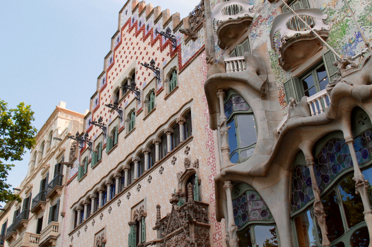 Barcelona, Spain - Gaudi, travel