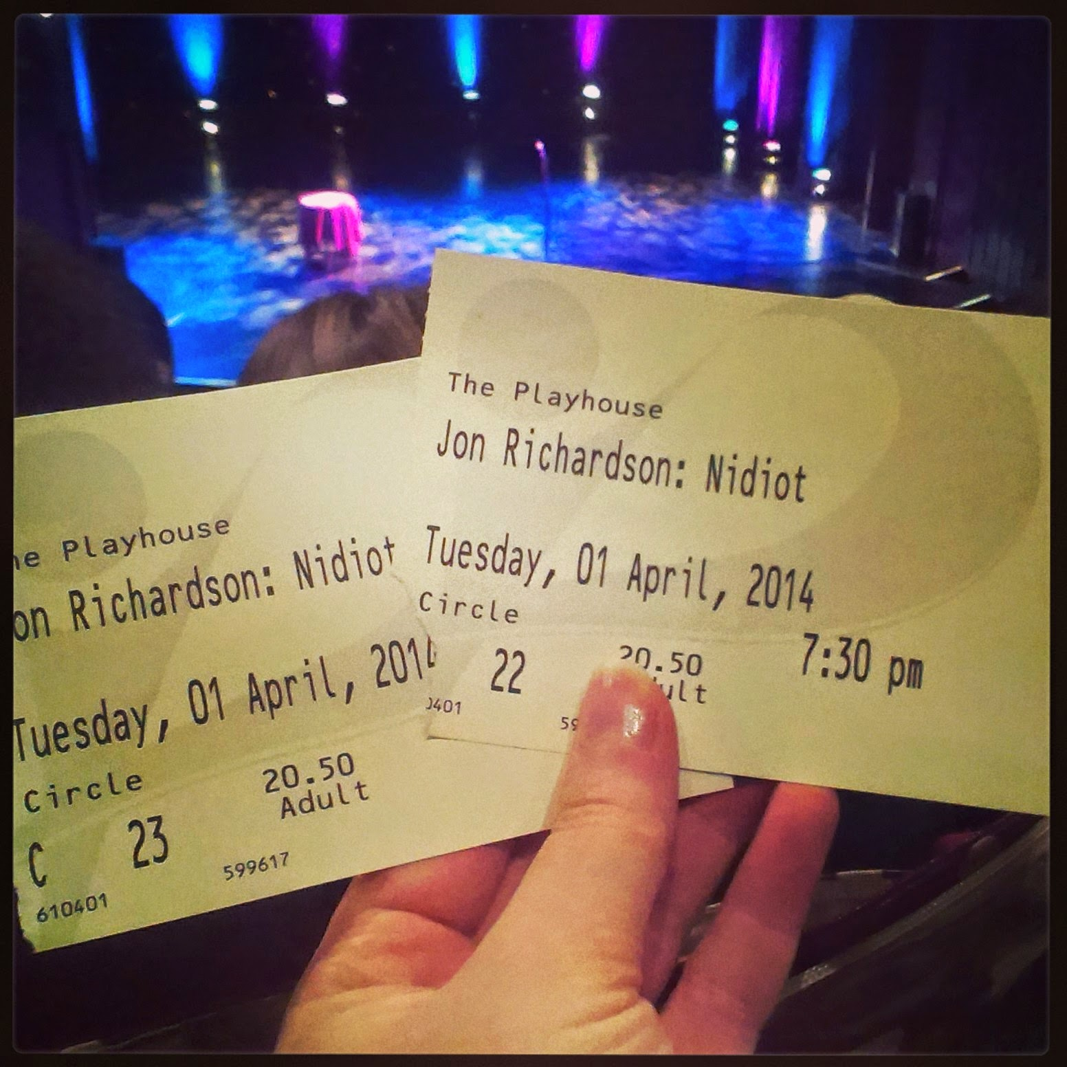 Tickets for Jon Richardson at Weston Super Mare Playhouse