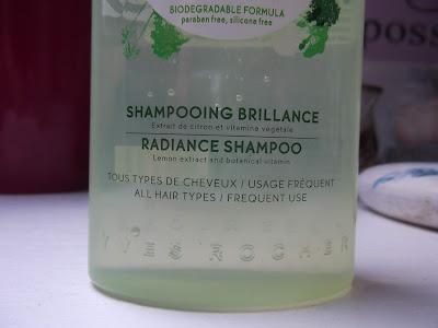 šampón pre žiarivé vlasy