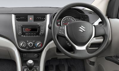 मारुति सुज़ुकी सेलेरियो कार interior