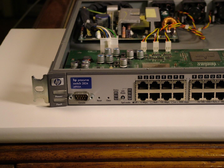 Hp 2824 Switch Manual