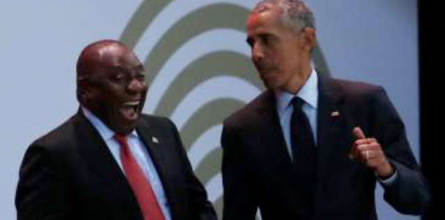 Amid Racist Land Grabs, Obama Praises South African Strongman