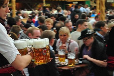lễ hội bia tại đức
