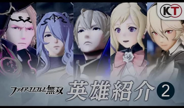New trailer of the upcoming game Fire Emblem Warriors introduces us with more heroes