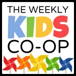 the weekly kids co-op button