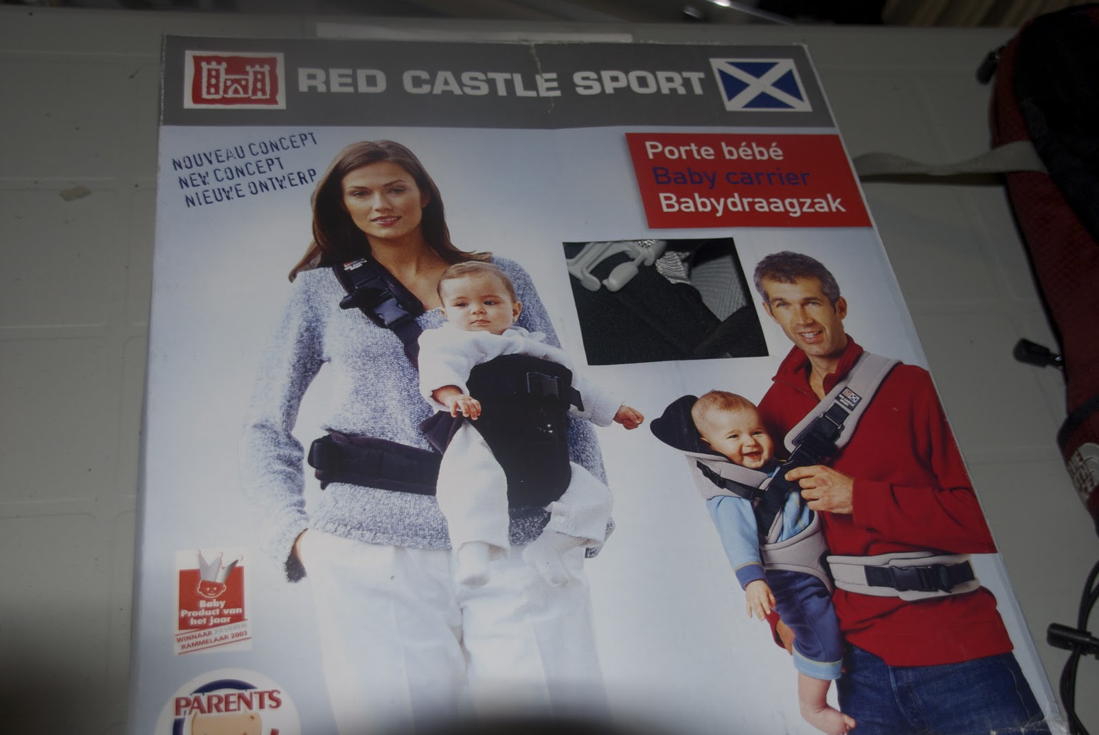 Red Castle Sport Baby Carrier  40 BNIB   Lynn Valley Sale 1b080acf435