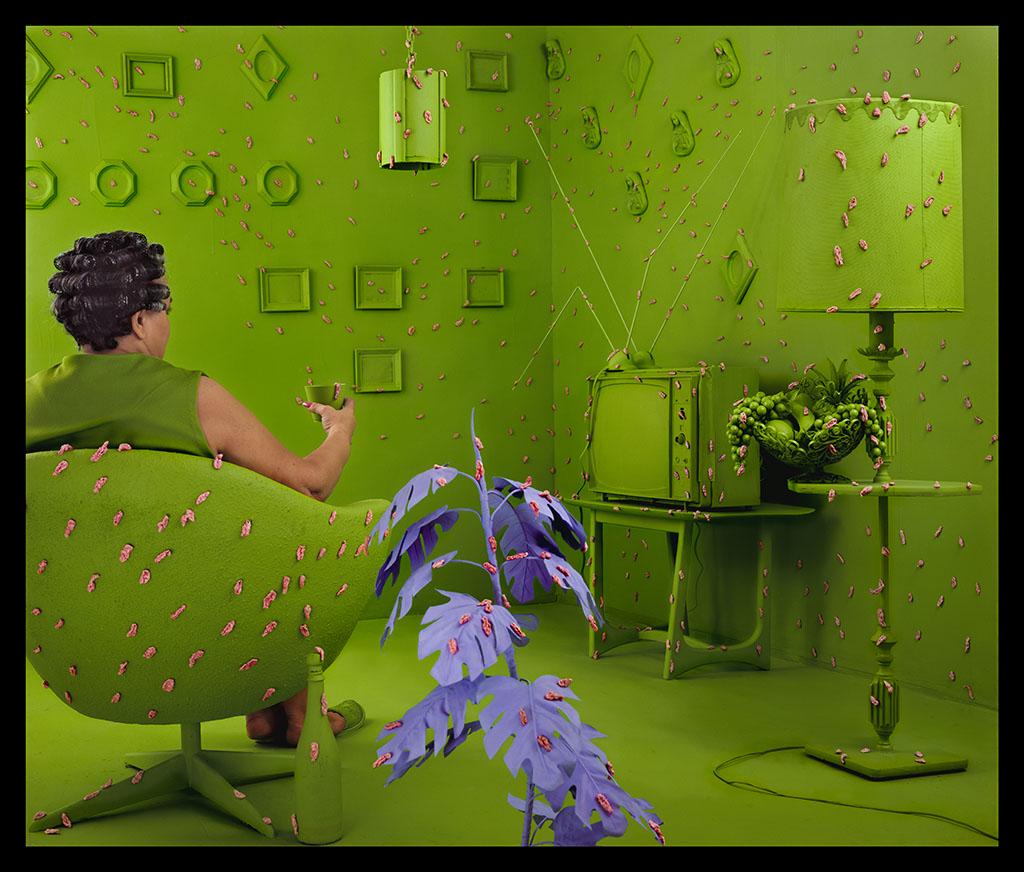 Life In Color: Color Shock: Sandy Skoglund