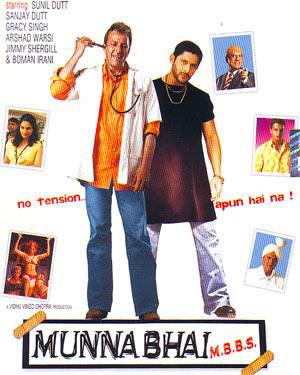 Munna Bhai M.B.B.S. (2003) Movie Poster