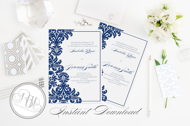 https://www.etsy.com/au/listing/244982274/henna-damask-wedding-invitation-5x7