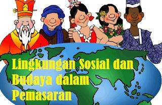 makalah Lingkungan Sosial dan Budaya dalam Pemasaran Internasional