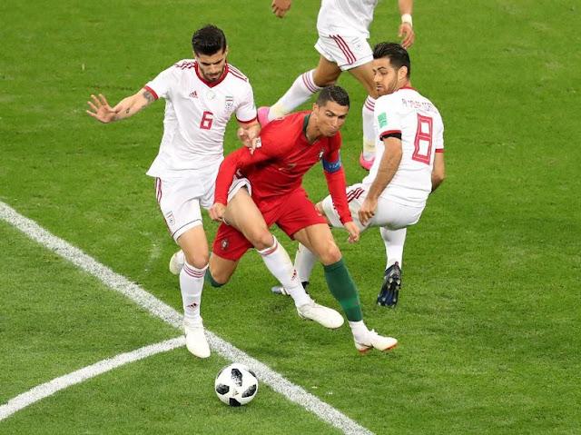 Cristiano Ronaldo Hadapi Pertahanan Terkuat di Piala Dunia 2018
