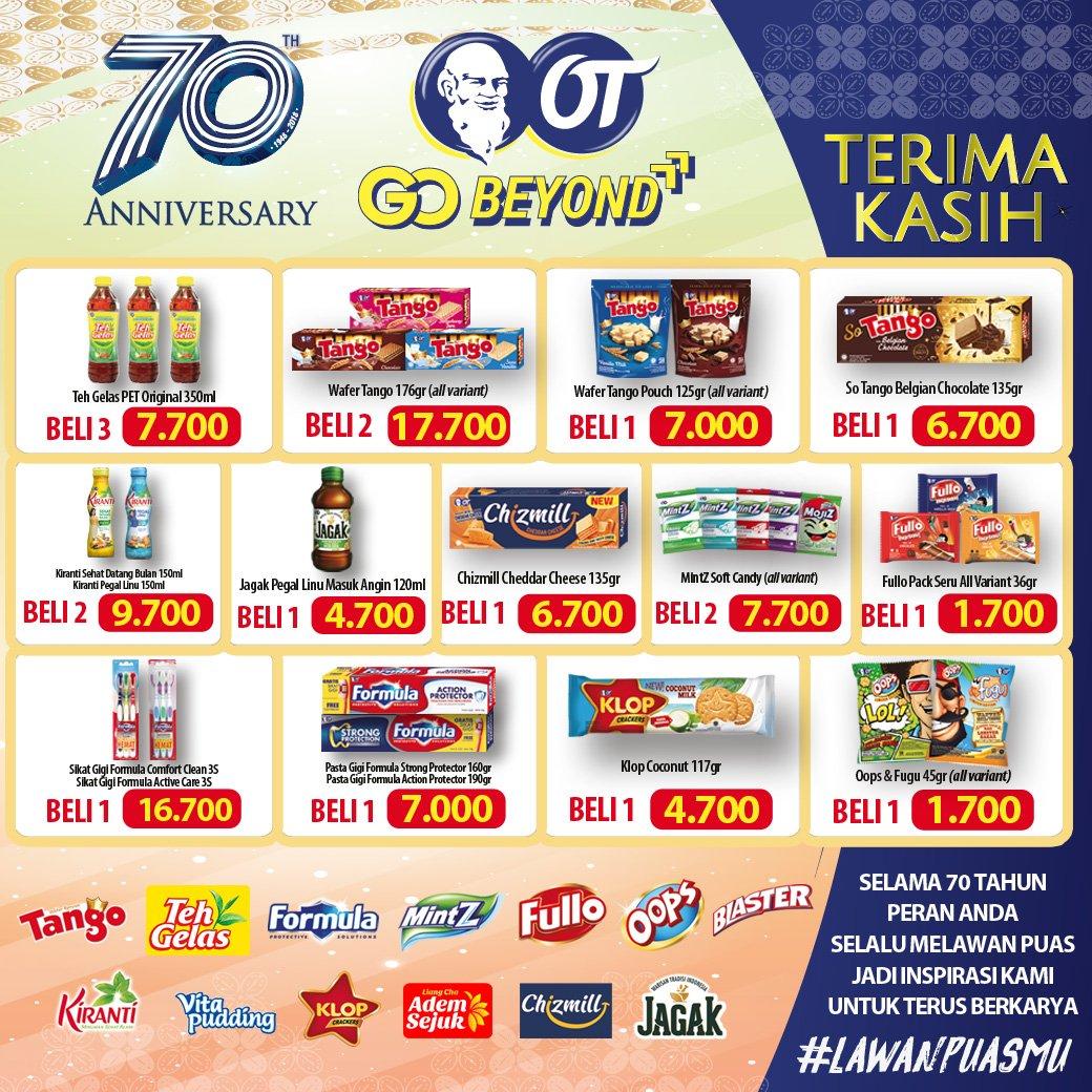Alfamidi - Promo Spesial Ultah OT ke 70 th Dapatkan Harga Spesial (s.d 15 Nov 2018)